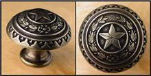 Drawer Pull - Capitol Star Brass TG052