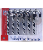 Candy Cane Ornament Set - Cowboys TG3000